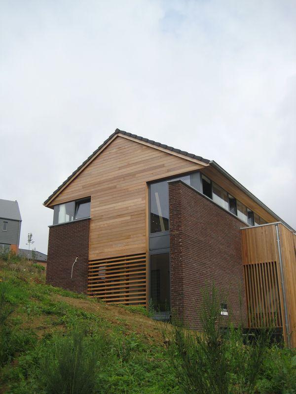Construction d\'une maison sur versant (Braine-le-Château) - Hervé ...
