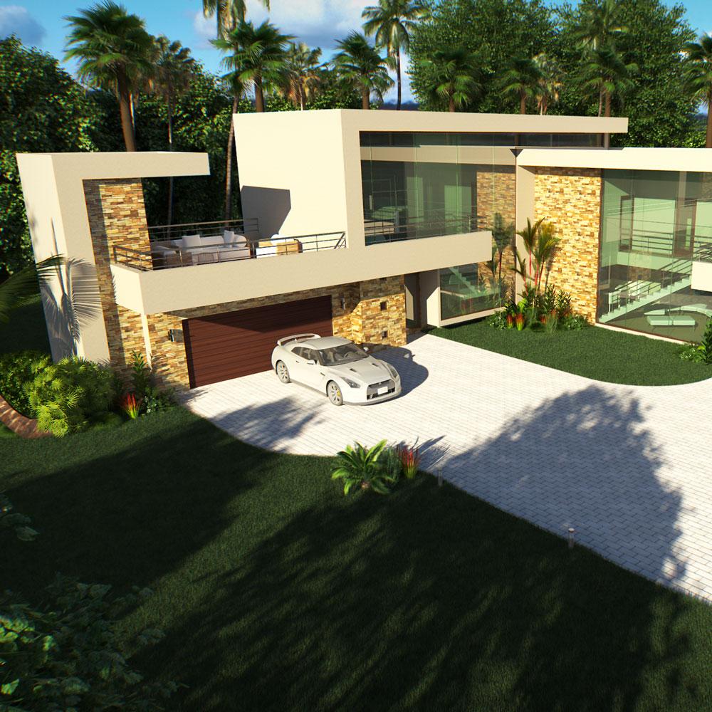 Modern House Exteriors In Mzansi - Modern House