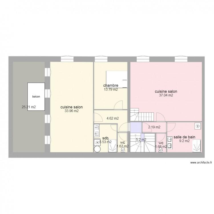 Plan D Appartement T3 Plan Appartement T3 50m2 Plan