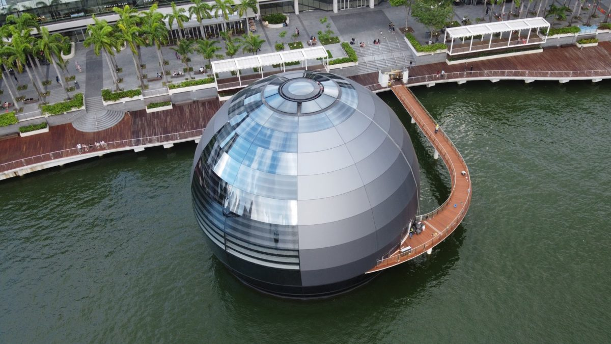 Is this Apple's Coolest new Store? - ARCHIGARDENER