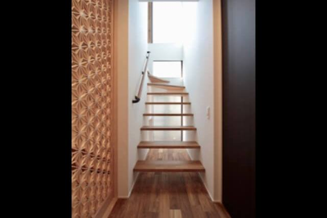 No.110 練馬区注文住宅:M邸事例 階段の画像