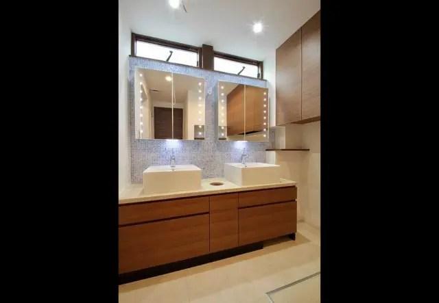 10.武蔵野市注文住宅の洗面室