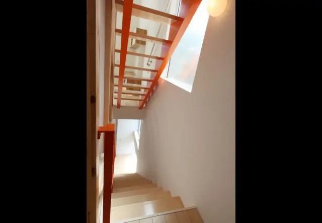 1.国分寺市注文住宅の階段