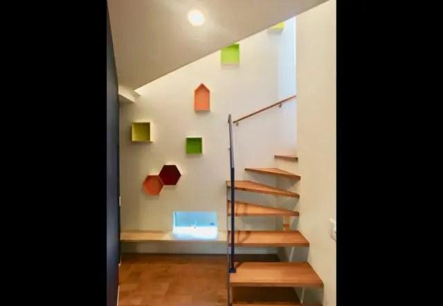 21.練馬区注文住宅の階段