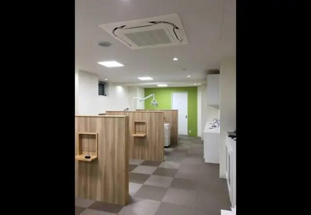 2.板橋区歯科医院リノベーションの診察室1