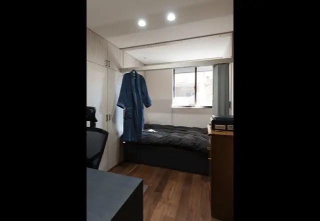 2.朝霞市のSE構法で建てた注文住宅の寝室2