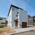 新座市にSE構法で注文住宅を建てる工務店|外観画像