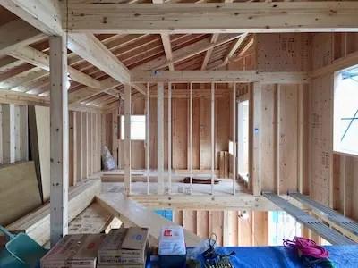 所沢市注文住宅のSE構法の構造写真2