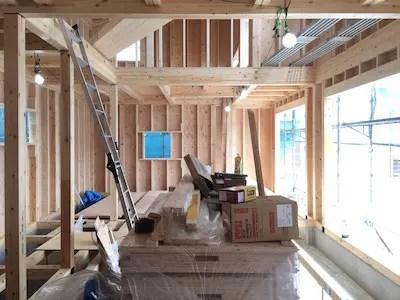 所沢市注文住宅のSE構法の構造写真1