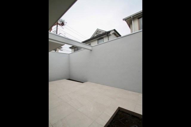 No.120 武蔵野市注文住宅 S邸事例 中庭の画像