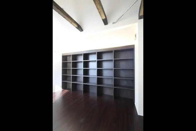 武蔵野市注文住宅TS邸の本棚画像