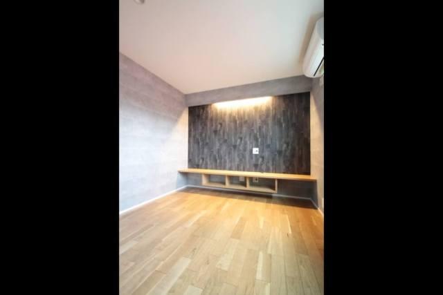 板橋区注文住宅|SE構法:MK邸のTVボード画像