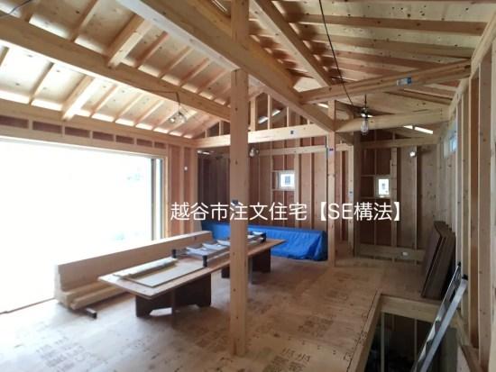 越谷市注文住宅【SE構法の家】の画像