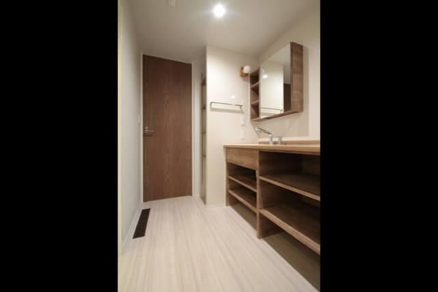 No.130 朝霞市注文住宅|SE構法 K邸事例 洗面室の画像