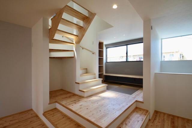 No.122 所沢市注文住宅 N邸事例 スキップフロアの画像