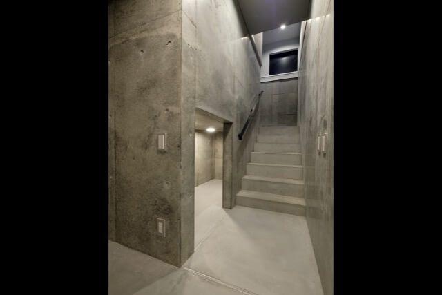 No134 新宿区注文住宅 M邸事例 地下の画像
