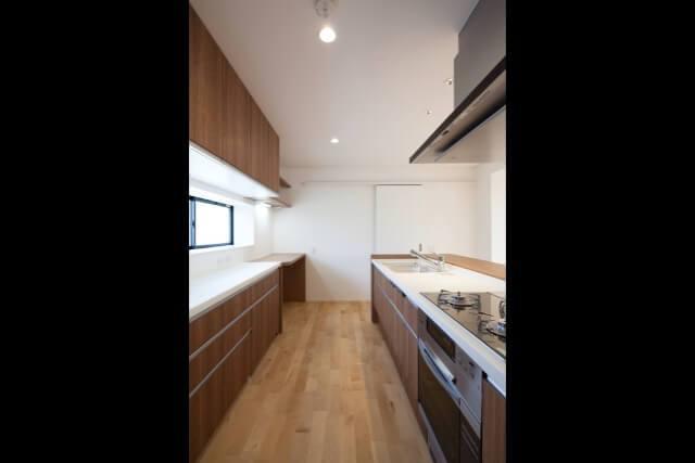 No.124 練馬区 戸建てリフォーム K邸事例 システムキッチン1の画像