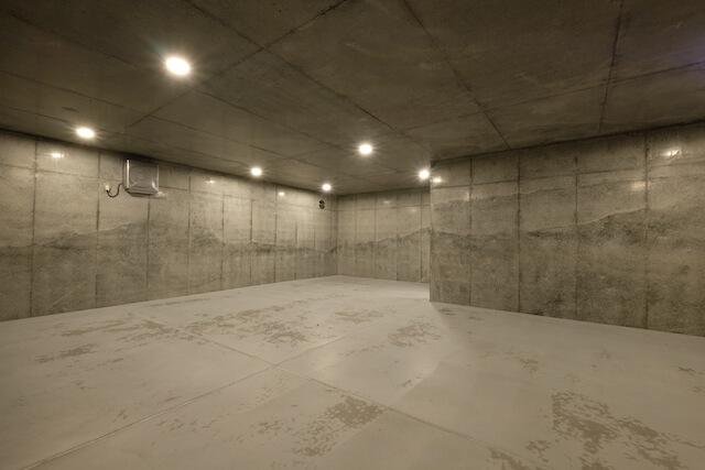 No.134 新宿区注文住宅 M邸事例 地下ガレージの画像