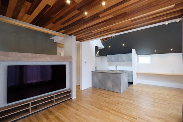 練馬区注文住宅|SE構法 S邸事例 LDK1の画像