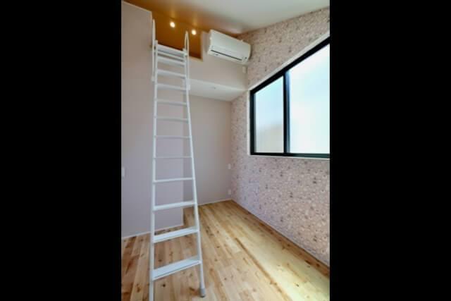 練馬区注文住宅 W邸事例 居室2の画像