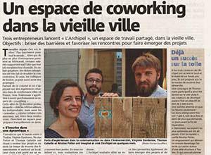 Photo article Var Matin - Un espace de coworking dans la vieille ville