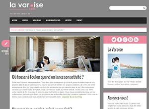 Photo article La Varoise - Où bosser à Toulon quand on lance son activité ?
