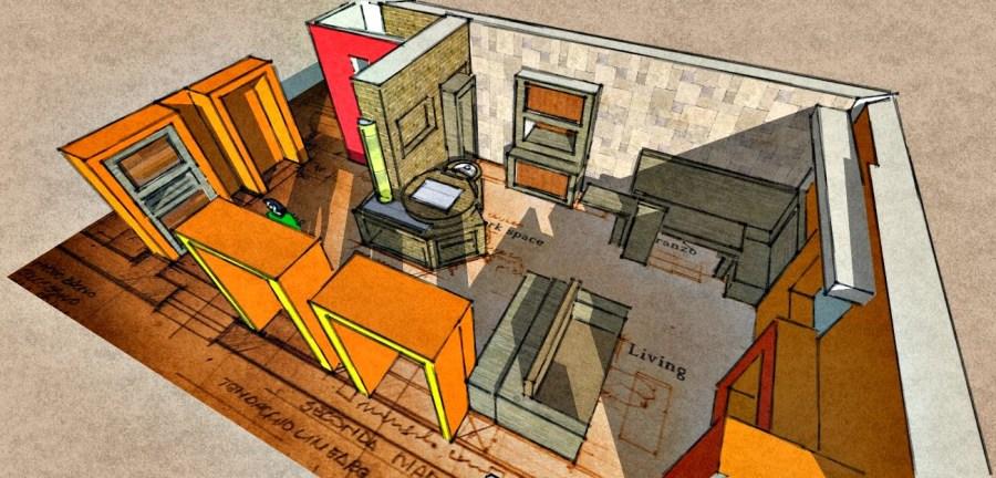 cucina cucine su misura progetti esempi disegno alberto mei rossi