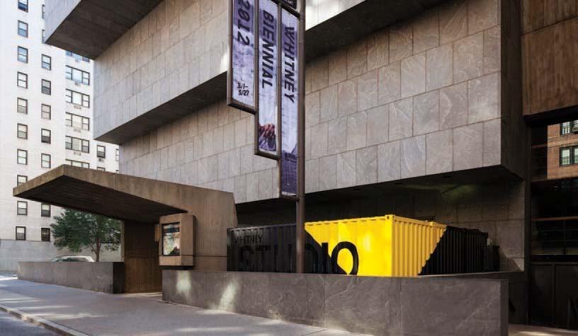 Whitney Studio By LOT EK Architecture Amp Design