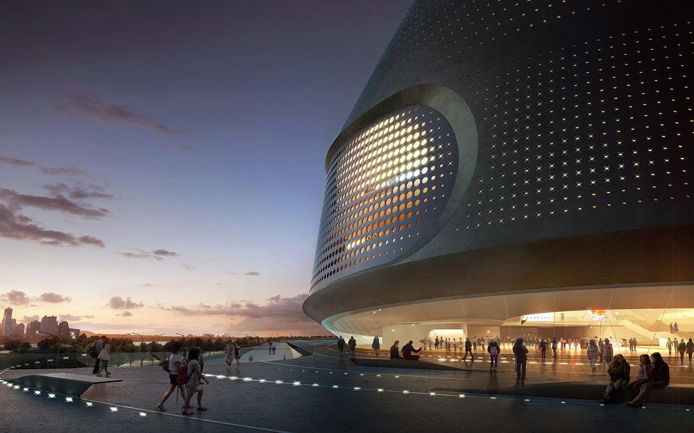 National Art Museum Of China By Unstudio