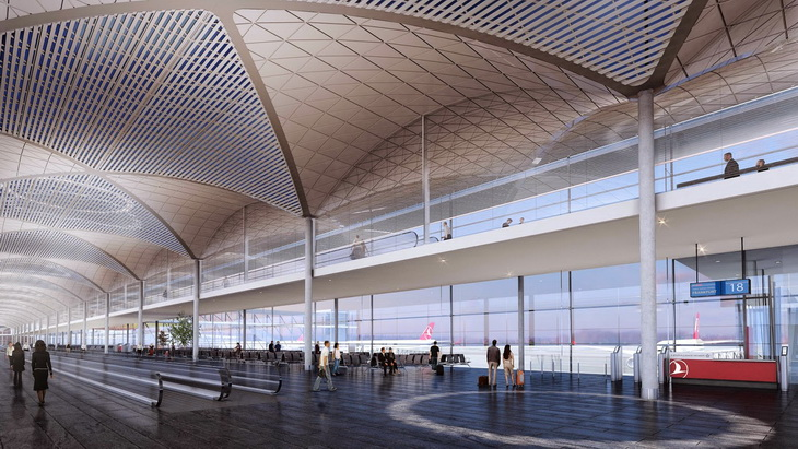 Istanbul Grand Airport By Grimshaw Architects Haptic