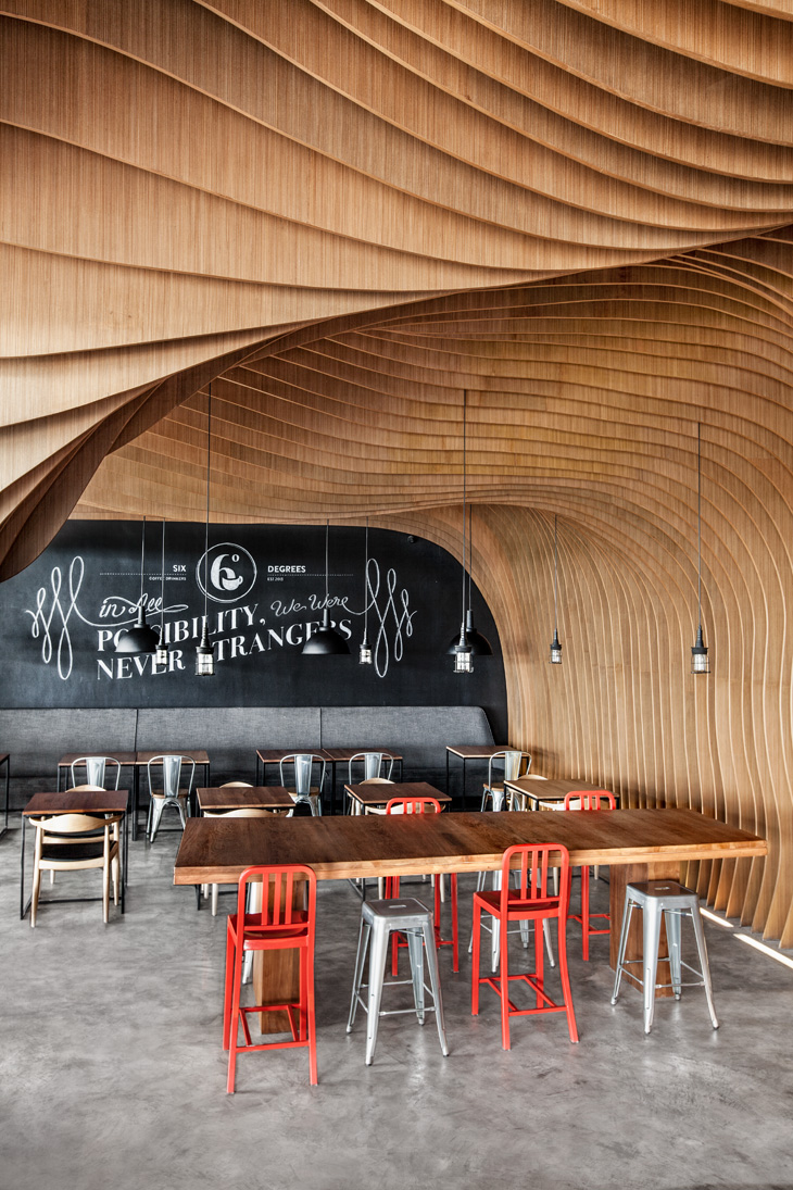 Six Degrees Cafe By Oozn Design