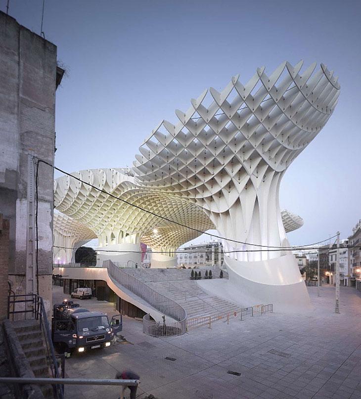 Metropol Parasol By J Mayer H Architects