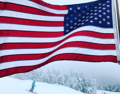 Stowe Mountain skiing