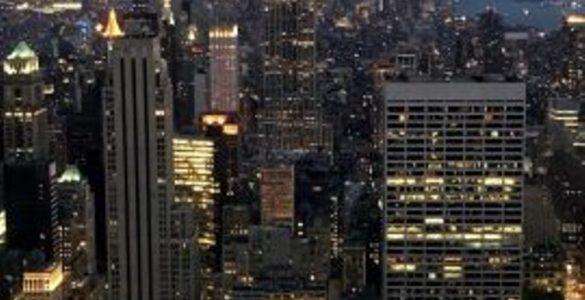 New York City Big lights