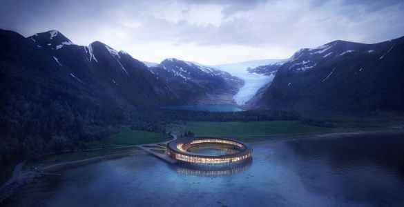 Hotel Norway news architecture