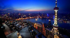 Ritz Carlton Hotel Rooftop Shanghai