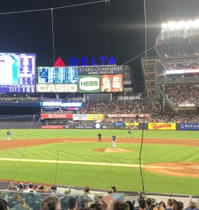 NY Yankees baseball game