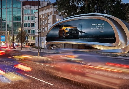 Billboard art London