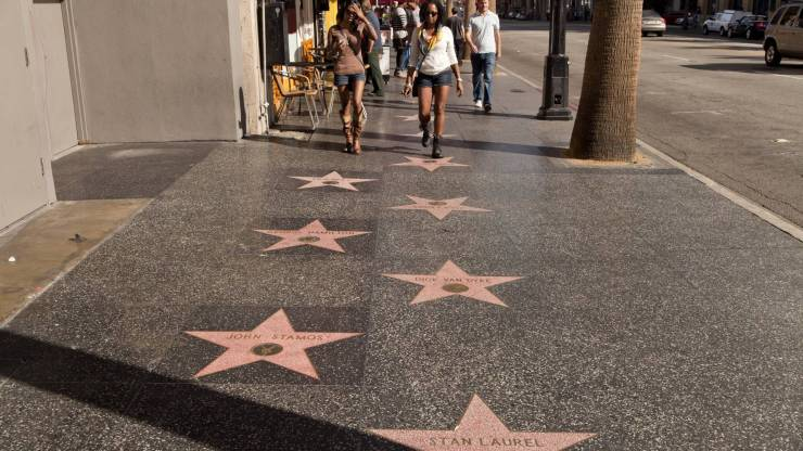 The Walk of Fame