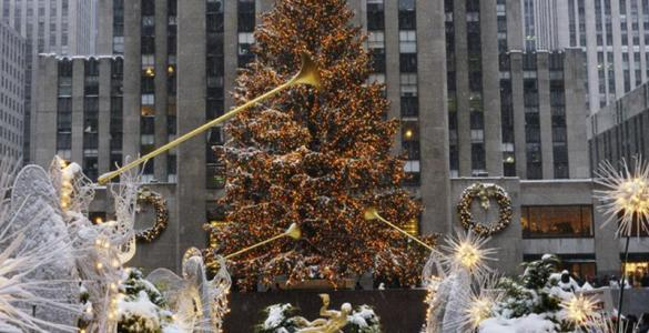 To NYC for Christmas