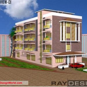 Best Hotel Design in 21716 square feet - 03