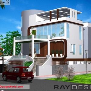 Best Residential Design in 5376 square feet - 08