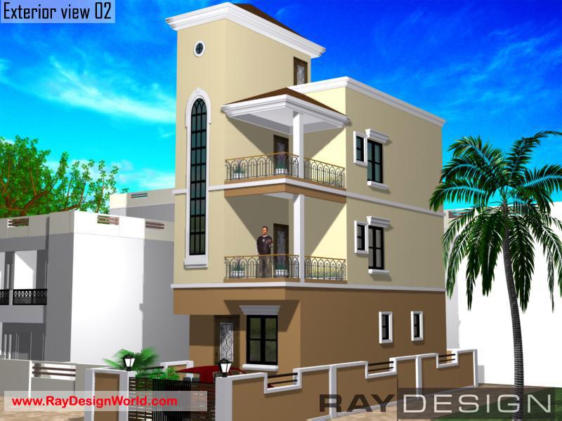 Best Residential Design in 874 square feet - 11