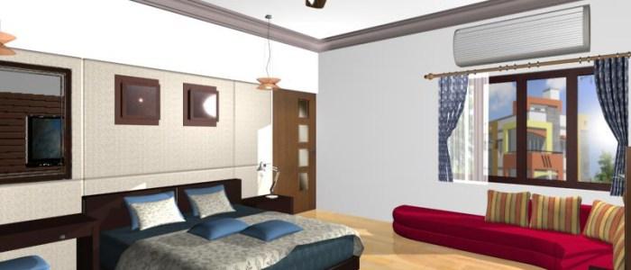 Anant goel -muzzafarnagar- bed room interior
