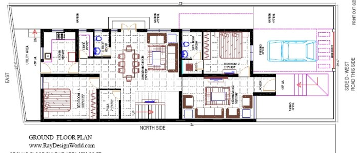 Best Residential Design in 2360 square feet - 73