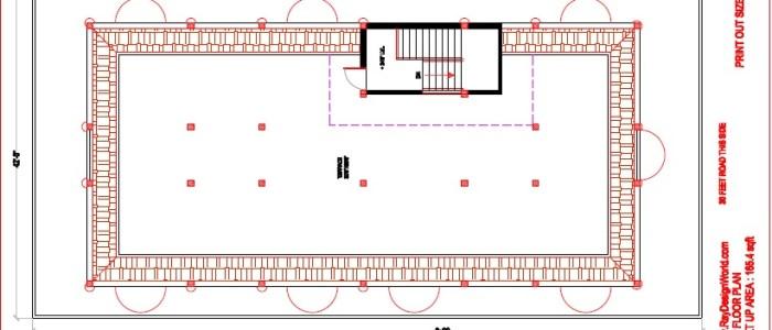 Best Hotel Design in 3612 square feet - 01