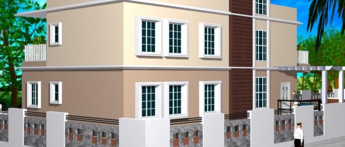 Best Residential Design in 3463 square feet - 34