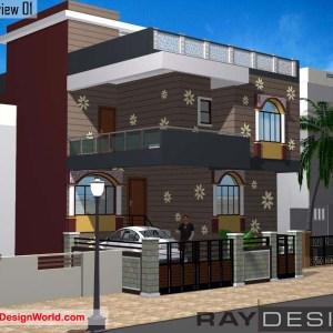 Best Residential Design in 1225 square feet - 57