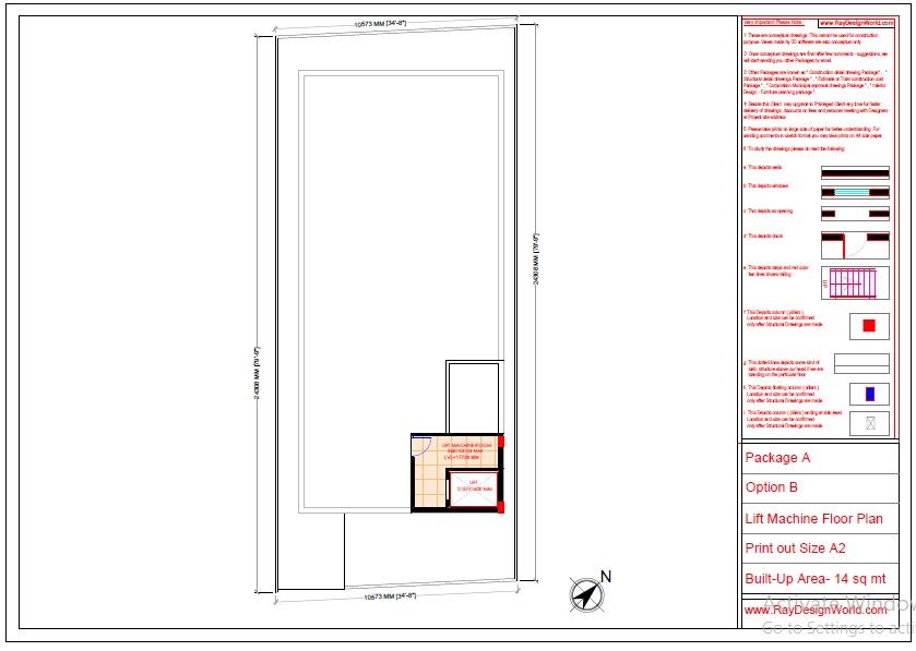 Commercial Complex Design-Lift machine floor  - Indranagar Lucknow UP - Mr. Abhishek Singh