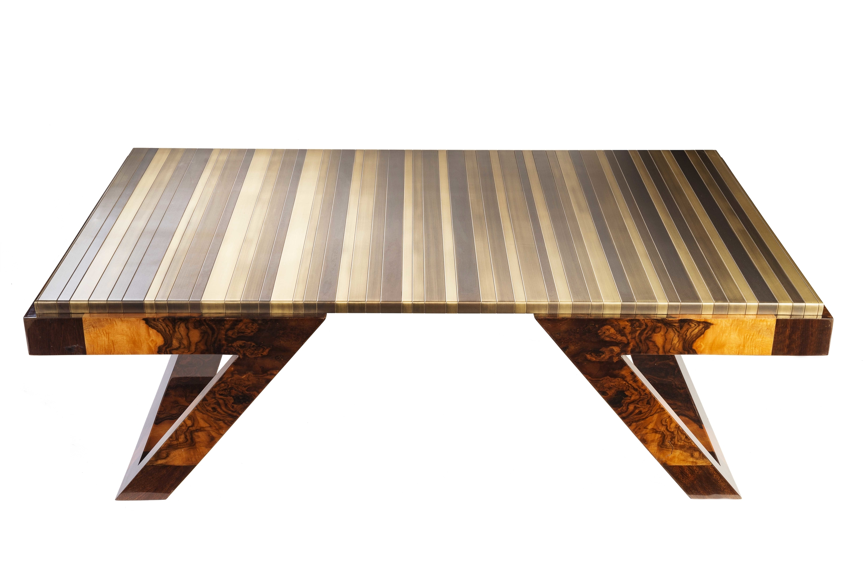 unveils striking coffee tables